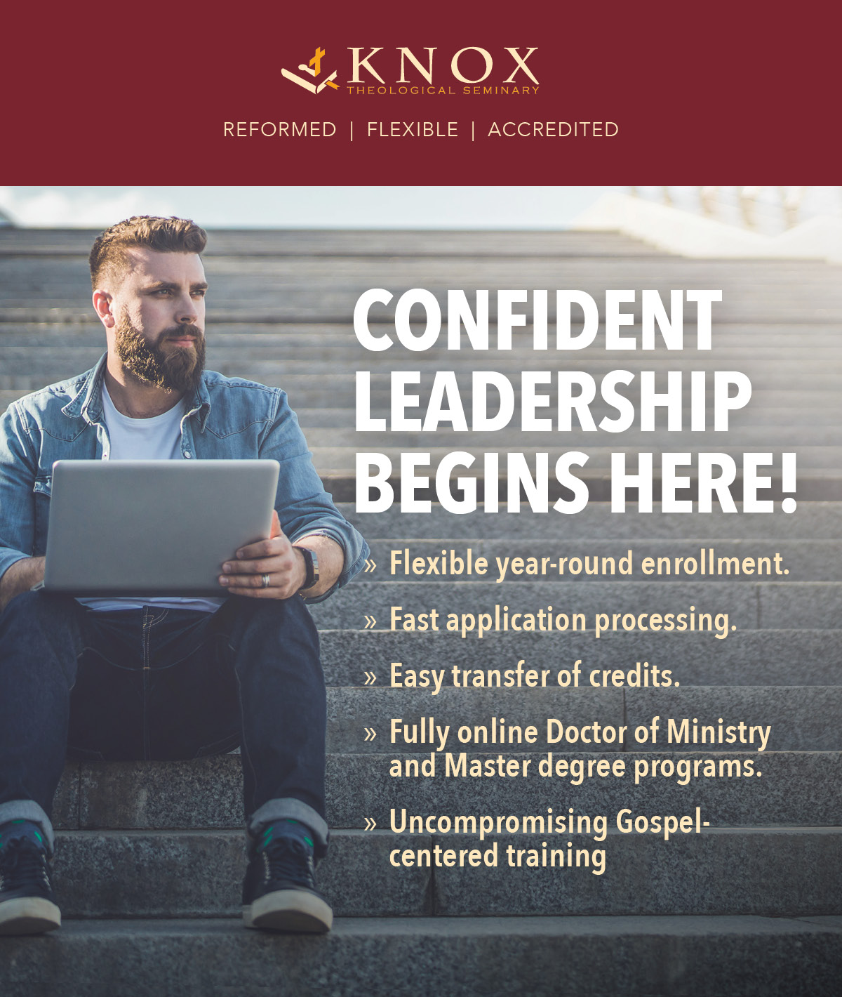 Fully Online Seminary Degrees From Knox