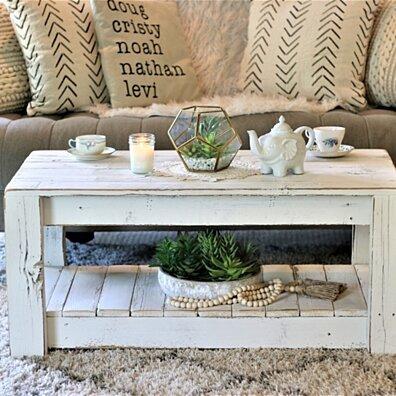 White Original Modern Coffee Table