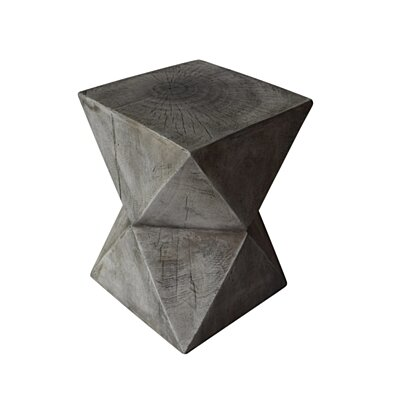 Manuel Light-Weight Concrete Accent Table