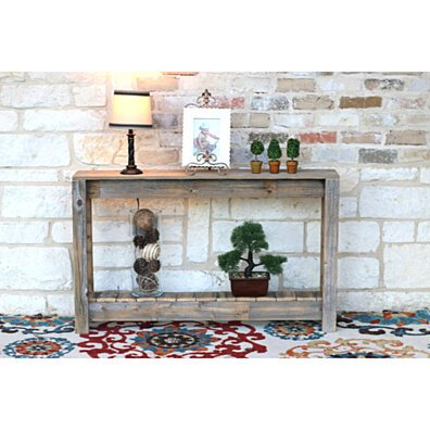 Rustic Entry-Table \ Console Table \ 46''''W x 8''''D x 28''''H