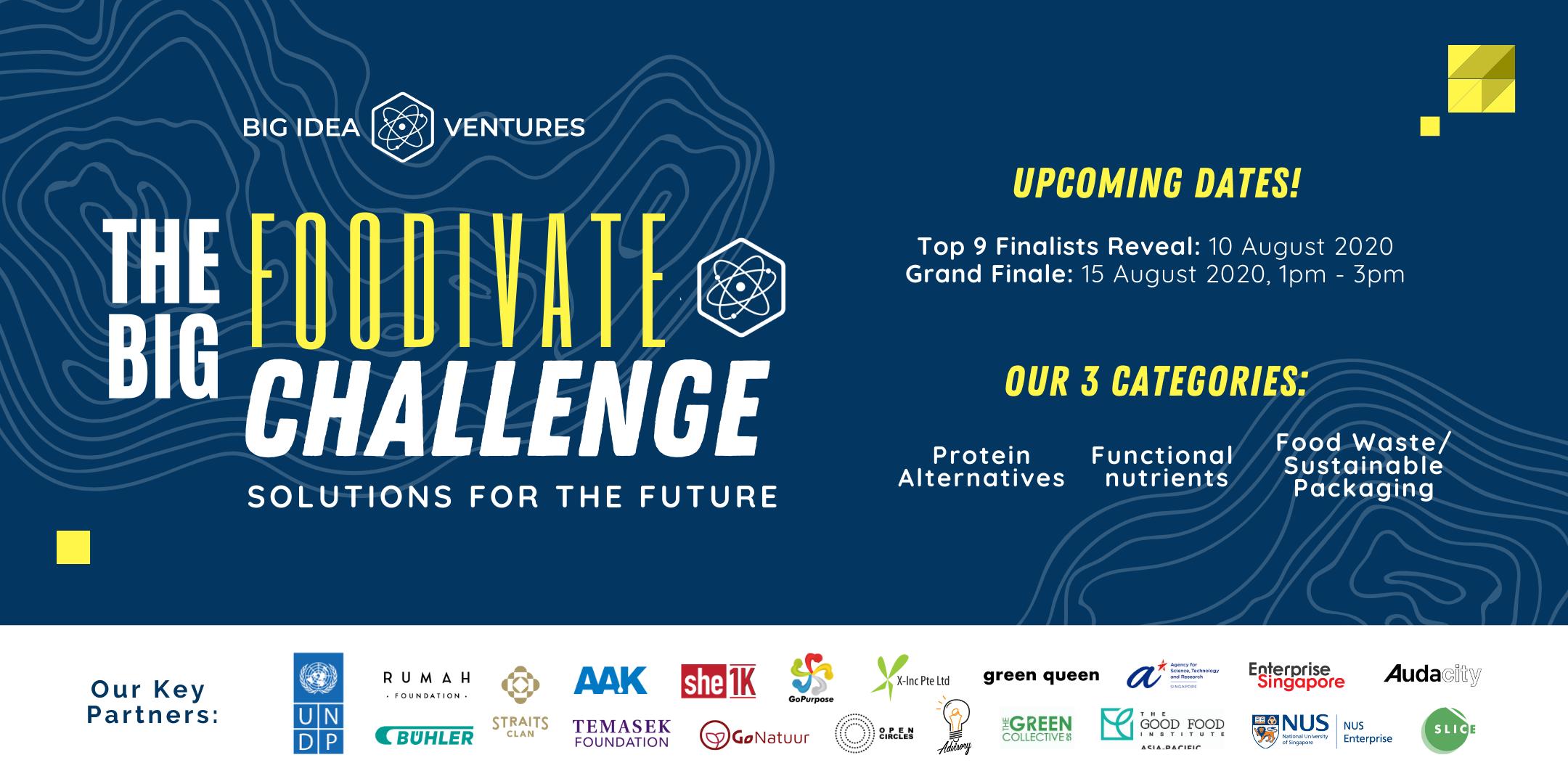 The BIG Foodivate Challenge by Big Idea Ventures - RSVP
