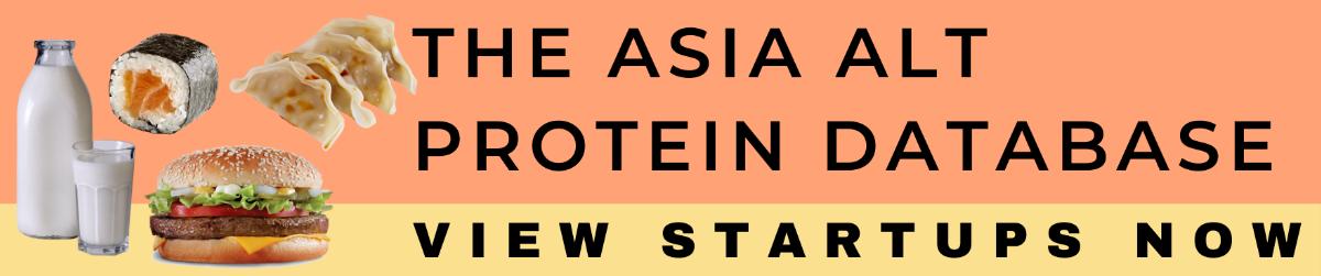 Asia Alt Protein Database - View Startups