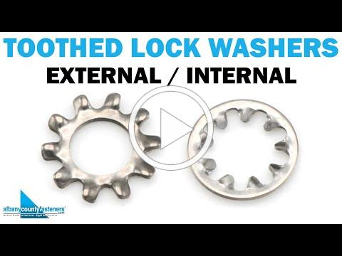 Toothed Lock Washers - External & Internal | Fasteners 101