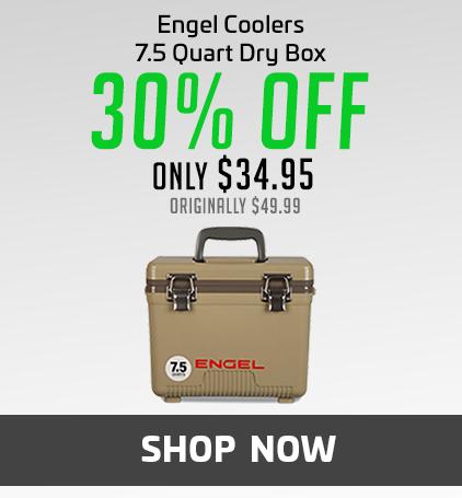 Engel 7.5 Quart Dry Box Cooler UC 7.5