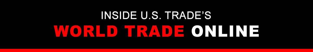 Inside U.S. Trade