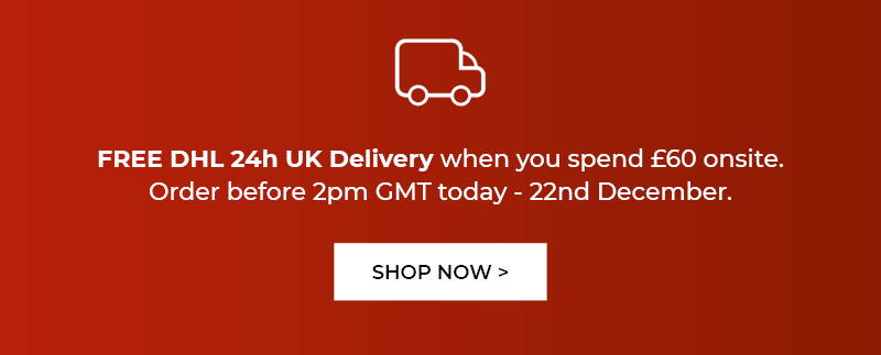 Free DHL 24h Delivery