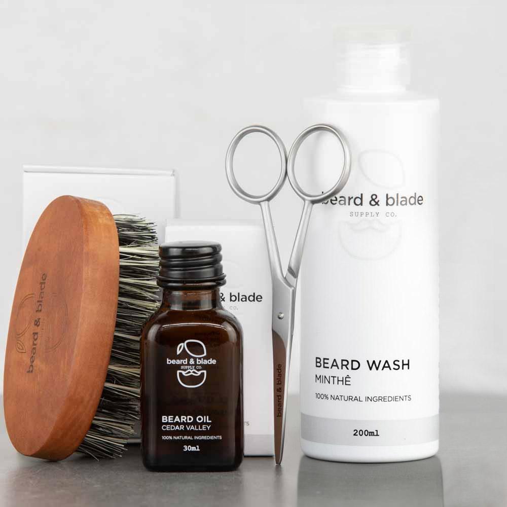 Beard & Blade Complete Beard Grooming Kit