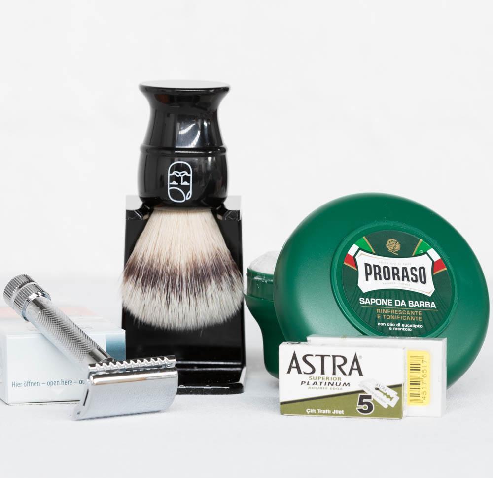 Beard & Blade Essentials Safety Razor Shaving Kit