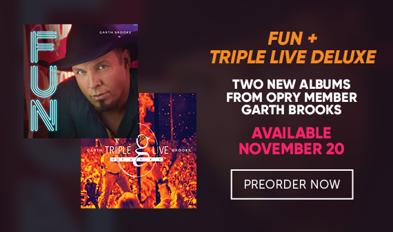 Two New Albums from Garth Brooks