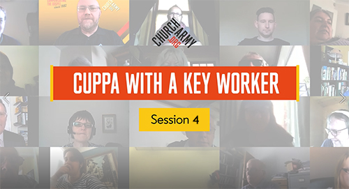 Cuppa with a Key Worker