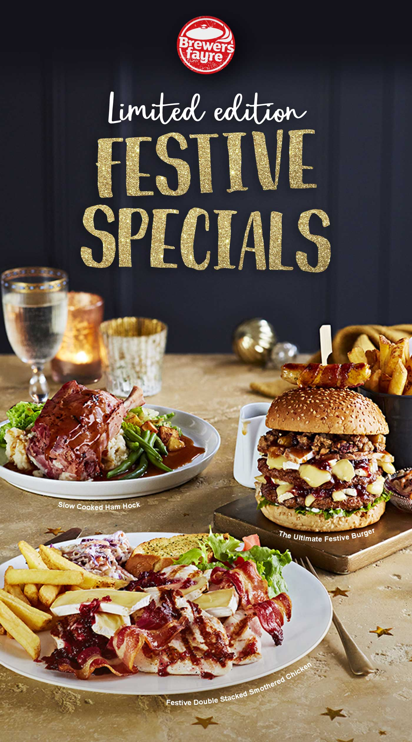 LIMITED EDITION FESTIVE SPECIALS