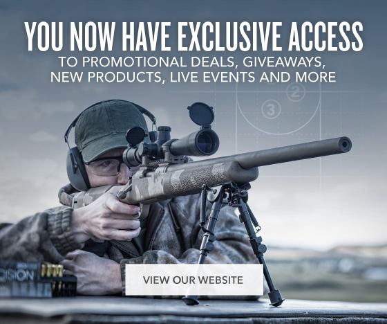 You now have access to promotional deals, giveaways, new products, live events and more