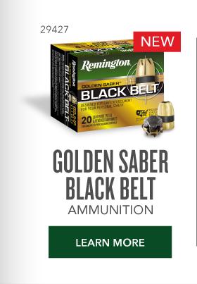 Golden Saber Black Belt Ammunition