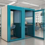 Teknion''s Tek Booth privacy booth