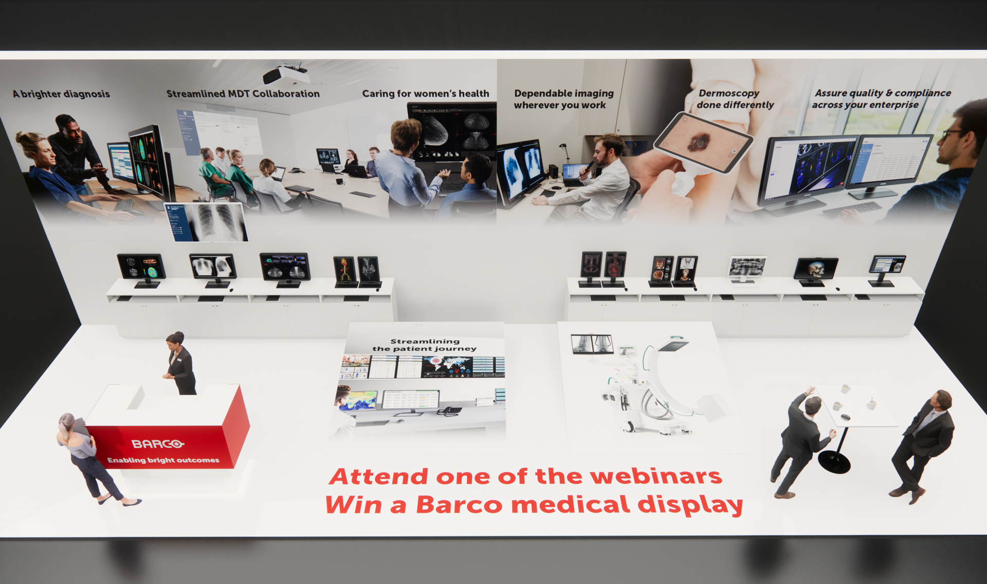 ECR 2020 Barco booth