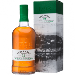 Tobermory 12 Year Old - Single Malt Scotch Whisky
