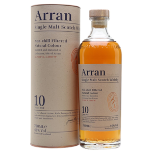 The Arran 10 Year Old - Island Single Malt Whisky