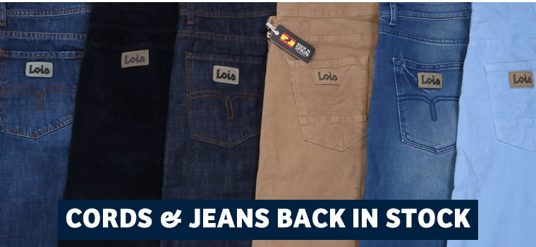 Jeans & Cords