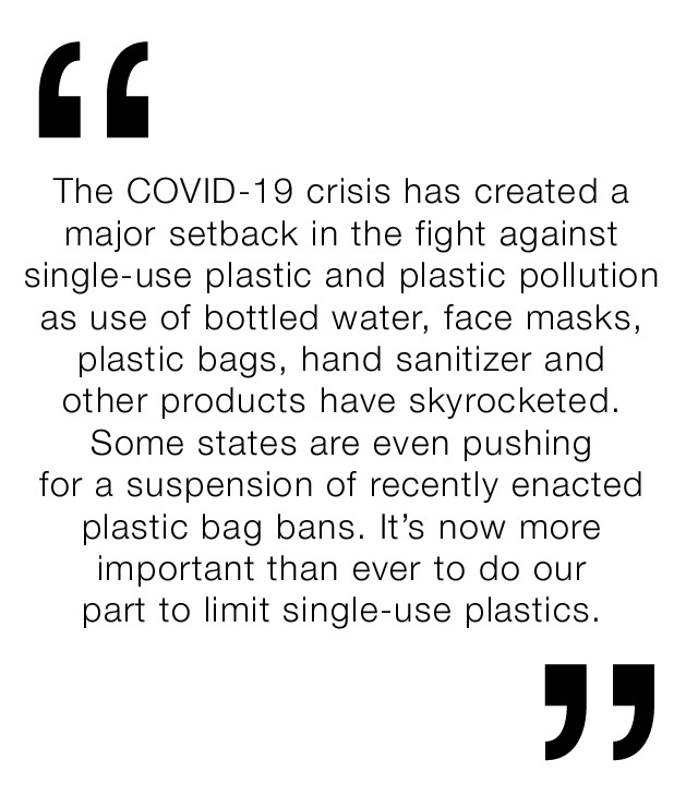 Let''s do our part to limit single use plastics