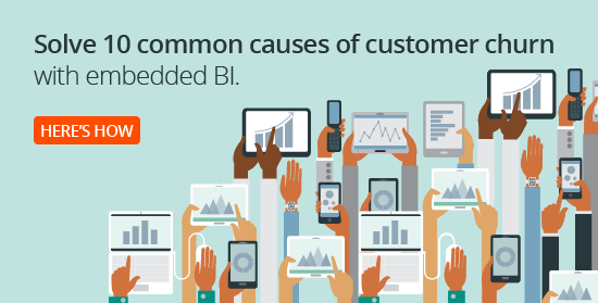 10 common causes of customer churn with embedded BI