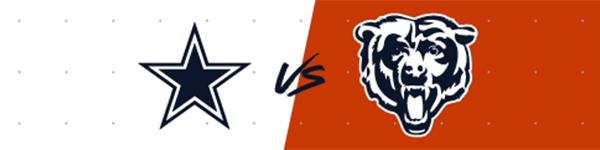 Cowboys vs. Bears