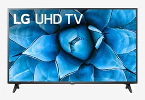 LG 43 Black 4K HDR Smart LED TV