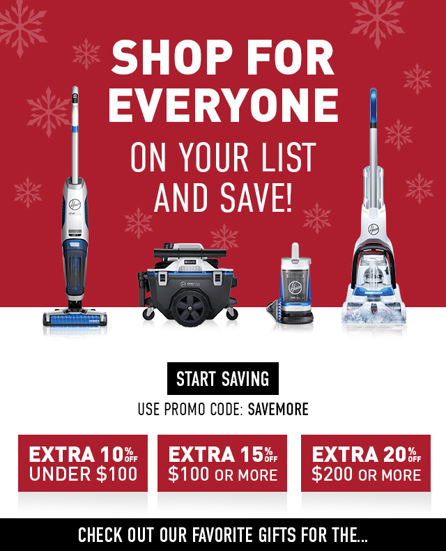 Shop for everyone on your list and save!