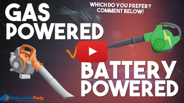 Gas Powered Leaf Blower or Battery Powered Leaf Blower? Which One Is Better? | eReplacementParts.com
