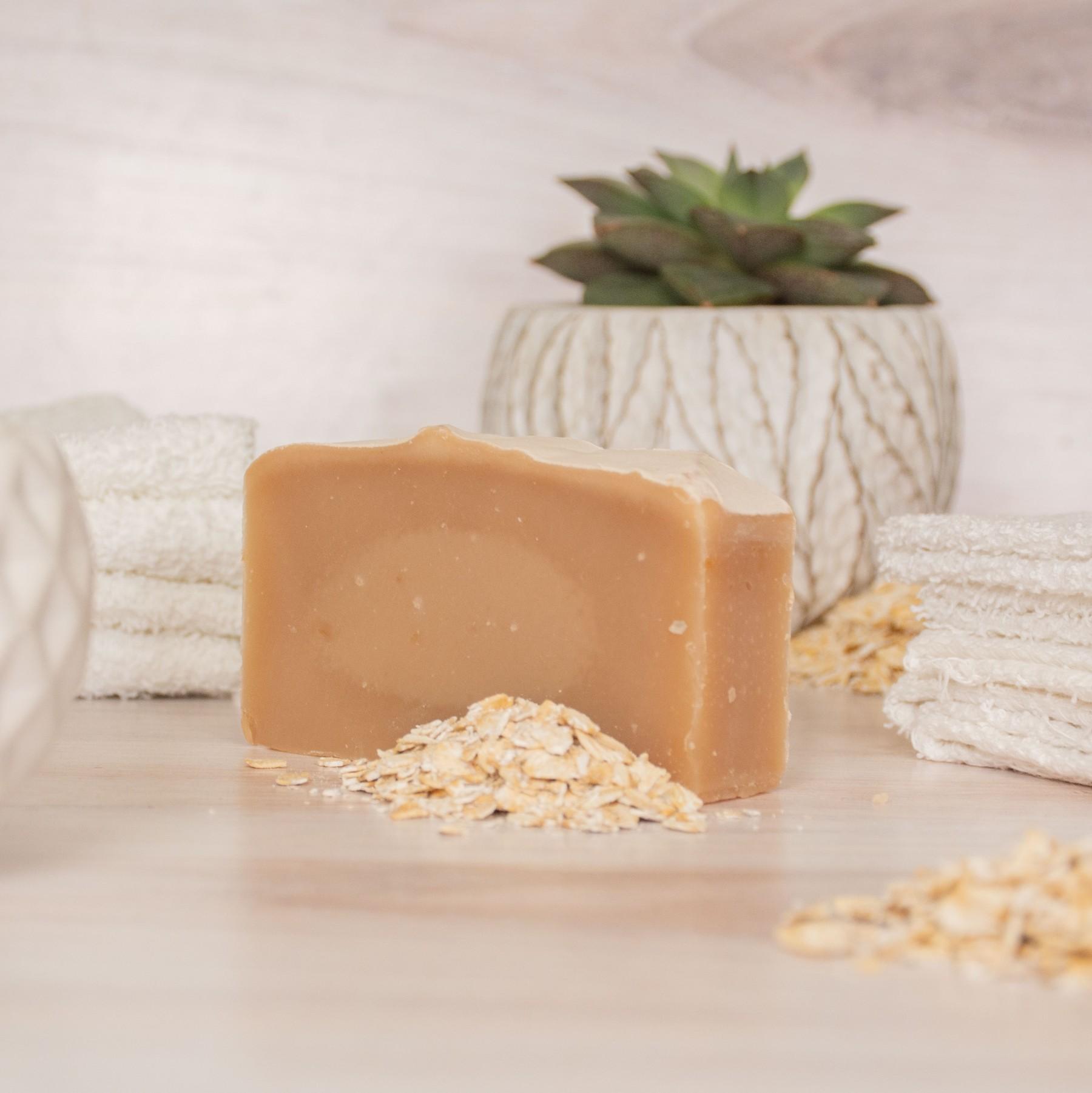 goat milk soap new shape