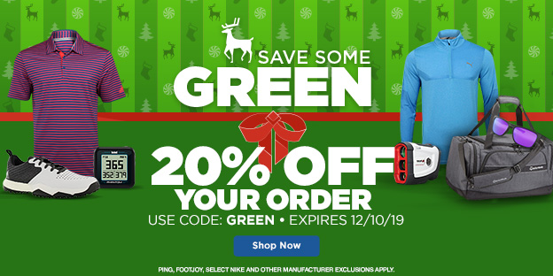 Shop Now & Save Green
