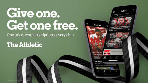 The Athletic - Festive Subscription Offer
