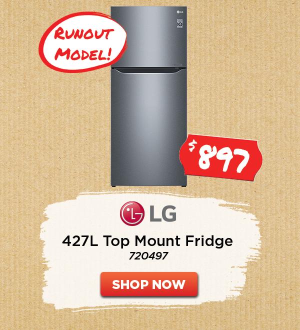LG 427L TOP MOUNT REFRIGERATOR