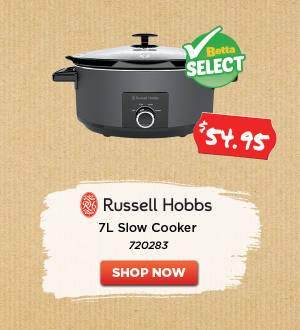 RUSSELL HOBBS 7L SLOW COOKER BLACK