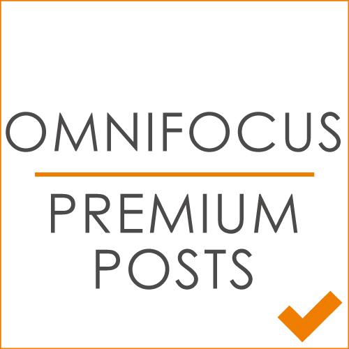 OmniFocus Premium Posts