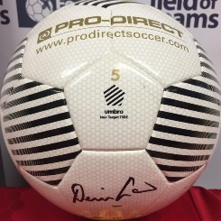 Denis Law Signed Ball