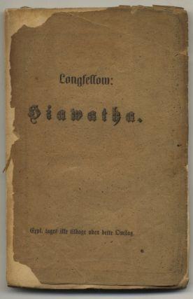 Sangen Om Hiawatha. Henry Wadsworth Longfellow