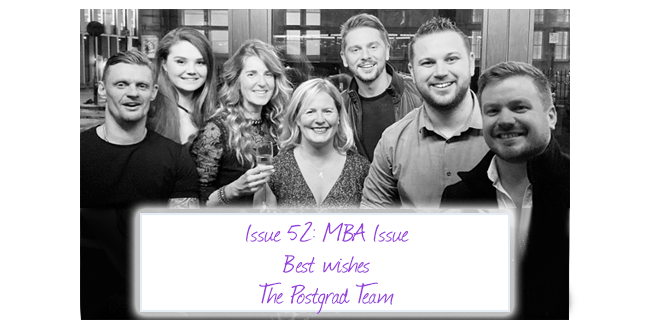 ISSUE 52: MBA Issue