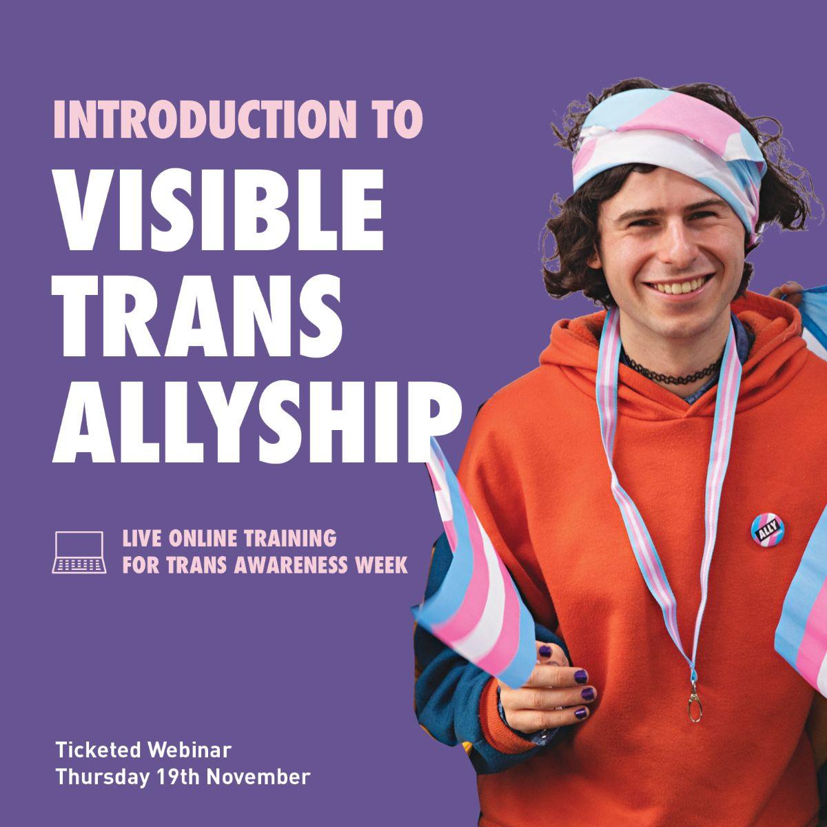 trans allyship digital event