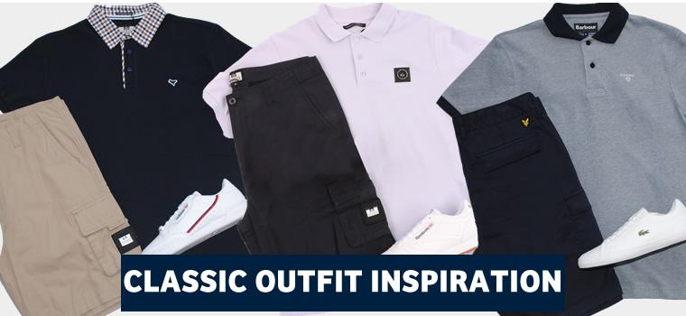 Polo Shirt & Combat Shorts