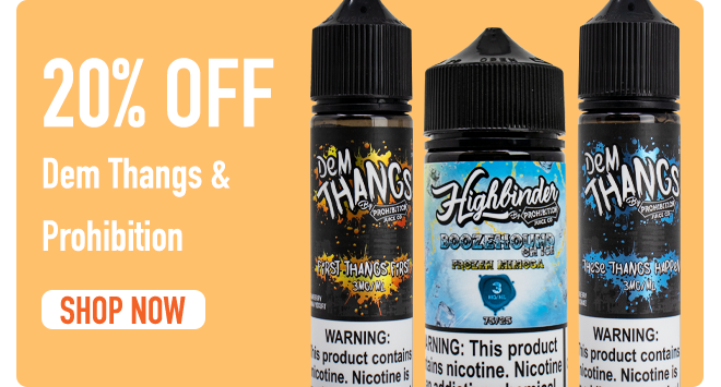 Save On All Prohibition Juice Co.