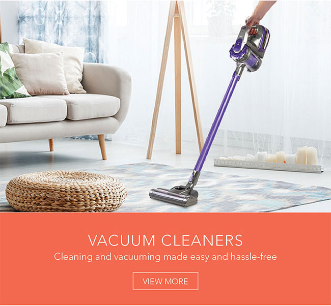 Cleaning and vacuuming made easy and hassle-free