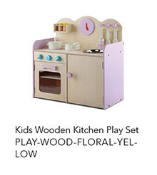 PLAY-WOOD-FLORAL-YELLOW