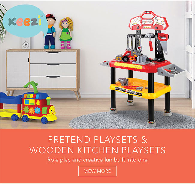 Role play and creative fun built into one