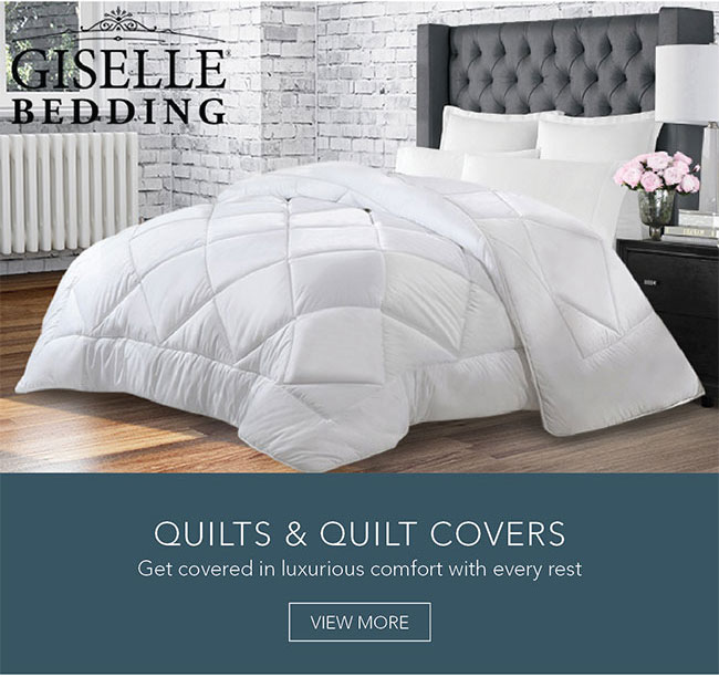 Get covered in luxurious comfort with every rest