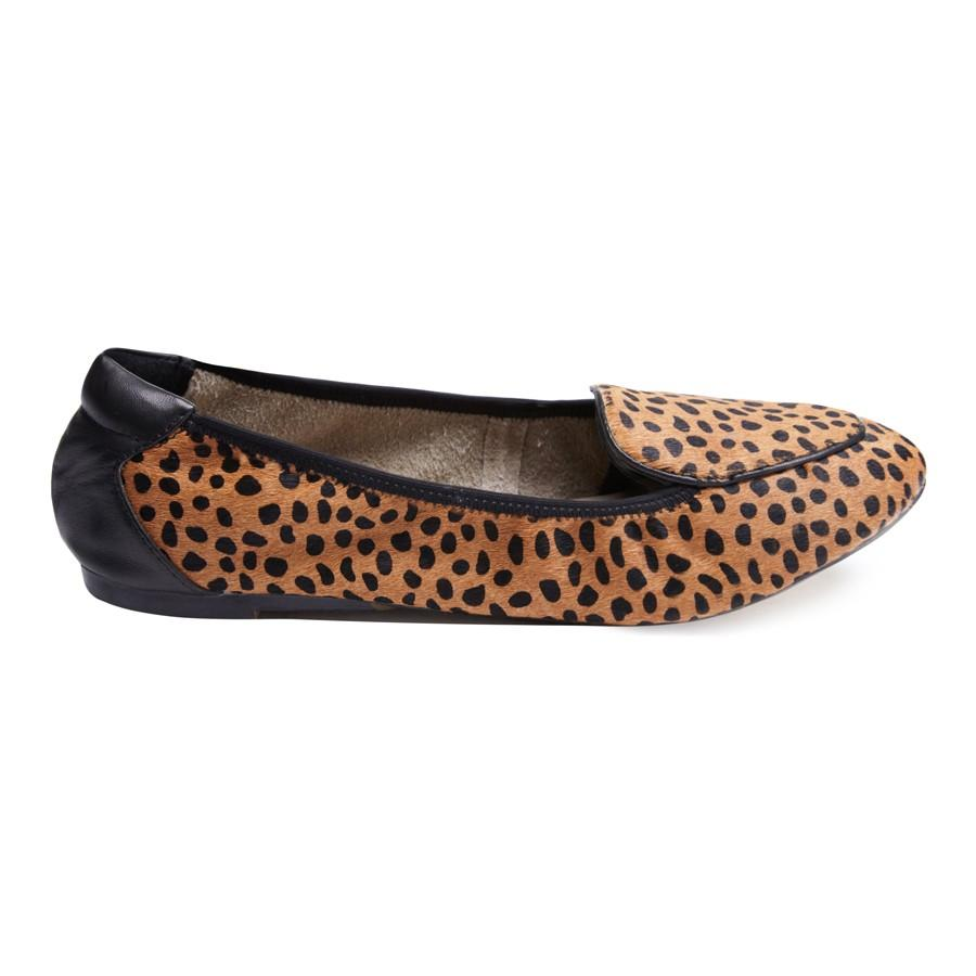 Clapham - Leopard Leather Loafers