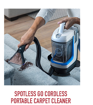 Spotless Go Cordless Portable Carpet Cleaner