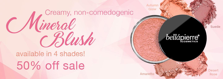 Mineral Blush - 50% off sale