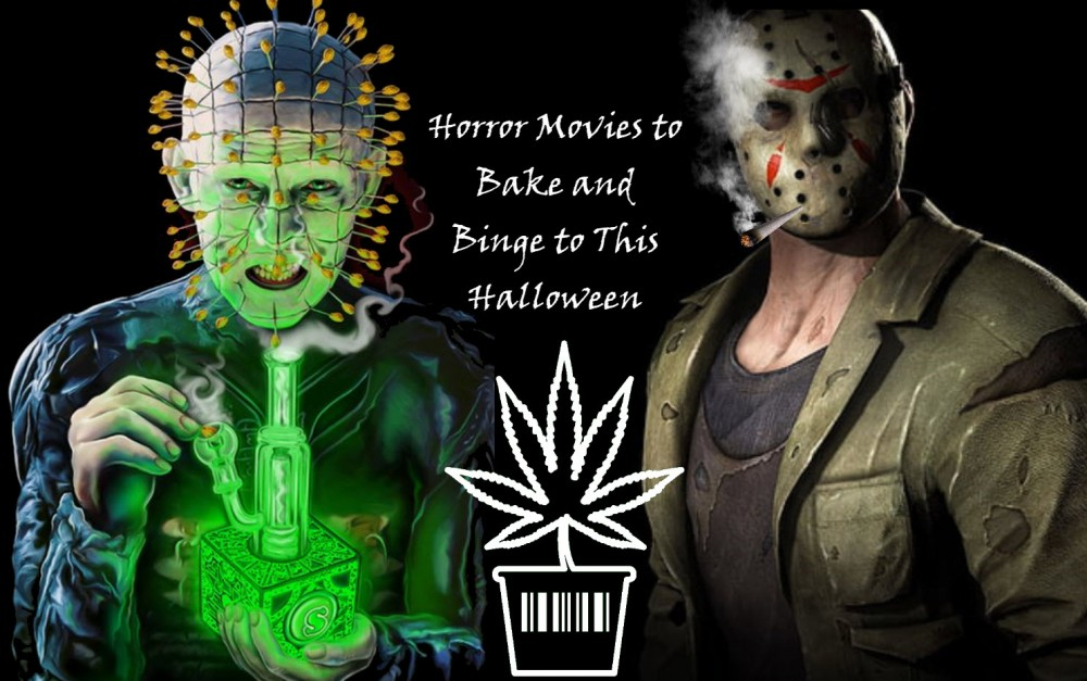 CANNABIS HORROR SHOWS THIS HALLOWEEN
