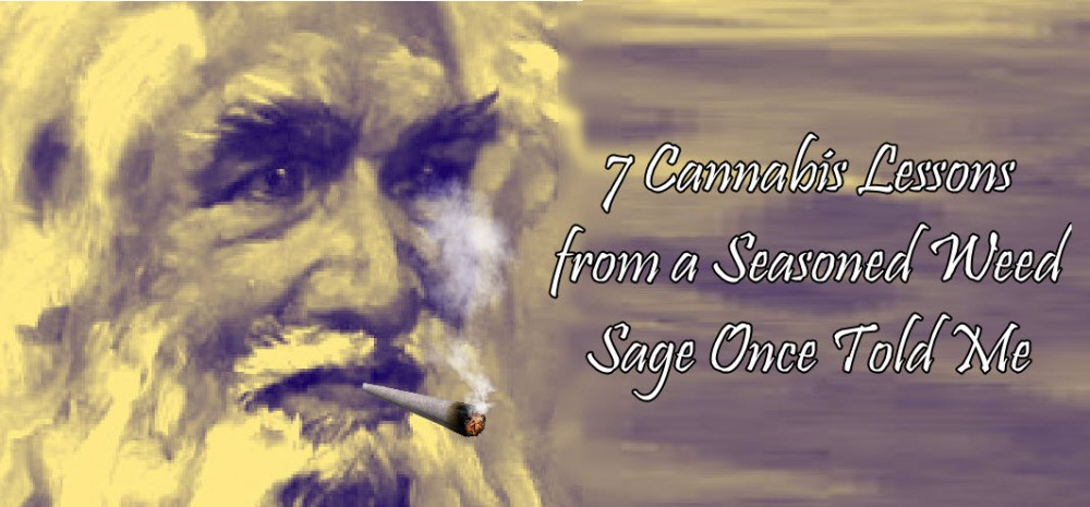 LESSONS IN MARIJUANA FROM A SAGE