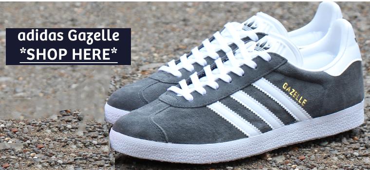 adidas Gazelle Burgundy & Grey